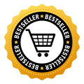 Bestseller vector symbol Royalty Free Stock Photo