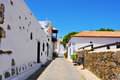 Betancuria in Fuerteventura, Canary Islands, Spain Royalty Free Stock Photo