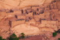Betatakin dwelling close view of ruin from overlook in navajo national monument Stock Image