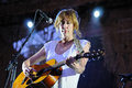 Beth orton performs at barcelona spain july poble espanyol on july in spain Stock Photo