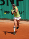 Bethanie MATTEK-SANDS (USA) bei Roland Garros 2010 Lizenzfreie Stockfotografie