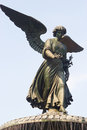 Bethesda Fountain Angel, Central Park, New York Royalty Free Stock Photo