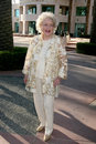 Betty white Imagem de Stock Royalty Free