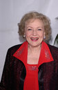 Betty white feb los angeles ca actress at the writers guild awards in hollywood Royalty Free Stock Photos