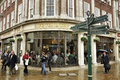 Bettys cafe tea rooms york united kingdom april rainy day in york england the famous betty s at helenas square york north Stock Photography