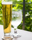 Bevande di freddo Fotografie Stock