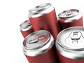 Beverage in can Stock Images