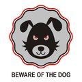 Beware of dog Stock Photos