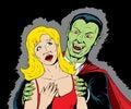 Beware the Vampire Royalty Free Stock Photo