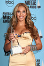 Beyonce knowles american music awards nokia theater los angeles ca november Stock Image