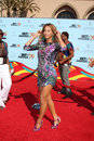 Beyonce knowles arriving at the bet awards at the shrine auditorium in los angeles ca on june Stock Image