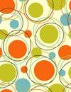 Bezszwowy orbita abstrakcjonistyczny wzór Obraz Stock