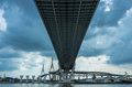 Bhumibol Bridge Royalty Free Stock Photography