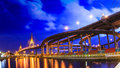 Bhumibol bridge bangkok thailand Royalty Free Stock Photography