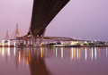 Bhumibol Bridge,the Industrial Ring Bridge Royalty Free Stock Image