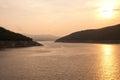 The Bhumibol Dam in Thailand. Stock Photography