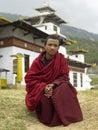 Bhutan - Buddhist Monk