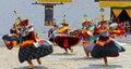 Bhutan Festival Royalty Free Stock Photo