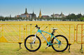 Bianchi mountain bike at Rayal Plaza (Sanam luang) in Bangkok, Thailand. Stock Images