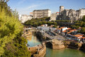 Biarritz, coast of france Royalty Free Stock Photos
