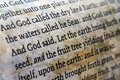 Bible close up of Royalty Free Stock Images