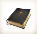 Bible computer illustration on white background Royalty Free Stock Photo