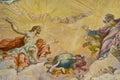 Biblical fresco Royalty Free Stock Photos
