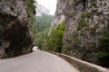 Bicaz canyon the most beautiful road in romania Stock Photography