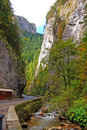 Bicaz gorge and little river Stock Photography