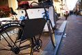 Bicycle At Amsterdam