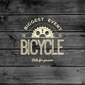 Bicycle badges logos and labels for any use Royalty Free Stock Photo