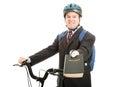 Bicycle Bible Salesman Royalty Free Stock Photography