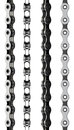 Bicycle chain isolated on white Stock Image