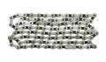 Bicycle chain isolated on white background Royalty Free Stock Photo