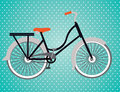 Bicycle design over dotted background vector illustration Stock Photos