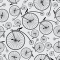 Bicycle historic pattern