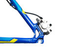 Bicycle hydraulic brakes Royalty Free Stock Photo