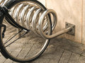 Bicycle Rack Stock Photography