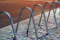 Bicycle Racks Royalty Free Stock Photo
