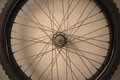 Bicycle spoke wheel details of Stock Image