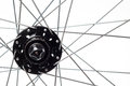 Bicycle Spokes and Hub Royalty Free Stock Photo