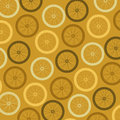 Bicycle tires over yellow background illustration Royalty Free Stock Photography