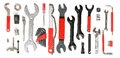 Bicycle tool set Royalty Free Stock Photo