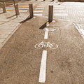 Bicycle Track Royalty Free Stock Photo