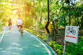 Bicycle trails