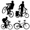 Bicycle vector Royalty Free Stock Image