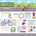 Bicycle flat icon design vector