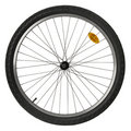 Bicycle wheel Royalty Free Stock Image