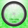 Bicycle Wheel Royalty Free Stock Photo