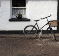 Bicycle With Window In Ireland Royalty Free Stock Photo